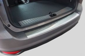 Ochranná nerezová lišta zadného náraznika pre Ford Fiesta MK6 3D