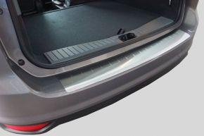 Ochranná nerezová lišta zadného náraznika pre Nissan Tida 5D