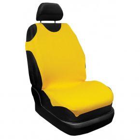 Autotričká 100% Bavlna, žltá, predné 2ks, 16A