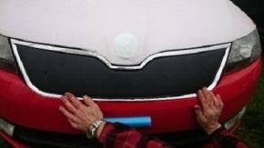 Zimná clona prednej masky pre RAPID/SPACEBACK 5D DOLNÁ
