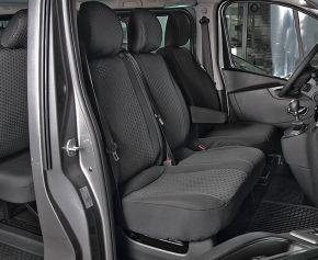 Autopoťahy na mieru Tailor Made DV2 pre OPEL VIVARO B (2014-2019)