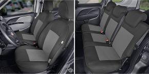 Autopoťahy na mieru Tailor Made pre FIAT DOBLO IV 5m. (2015→)
