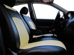 Autopoťahy na mieru Koža RENAULT CLIO