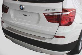 Ochranná nerezová lišta zadného náraznika pre BMW X3 F25