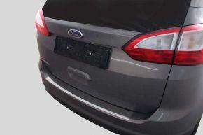 Ochranná nerezová lišta zadného náraznika pre Ford C-MAX Grand