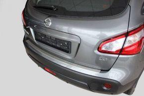 Ochranná nerezová lišta zadného náraznika pre Nissan Qashqai + 2