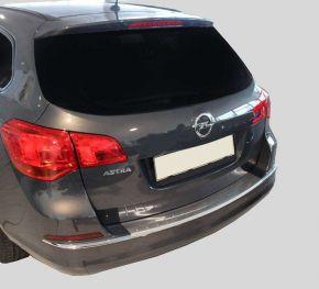 Ochranná nerezová lišta zadného náraznika pre Opel Astra IV J HB