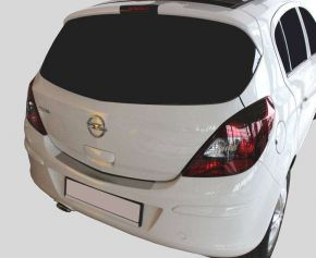 Ochranná nerezová lišta zadného náraznika pre Opel Corsa D