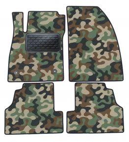 Maskačové textilné koberce pre Chevrolet Trax/Mokka  2013 4ks