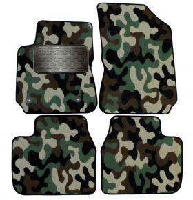 Maskačové textilné koberce pre Citroen C4 Cactus 2013-up  4ks
