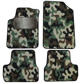 Maskačové textilné koberce pre Citroen DS3 2009-2015  4ks