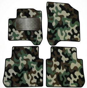 Maskačové textilné koberce pre Citroen C3 Picasso 2008-up