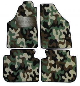 Maskačové textilné koberce pre Fiat Idea 2005-up 4ks