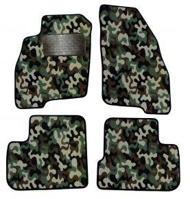 Maskačové textilné koberce pre Fiat Punto Grande 2005-up 4ks
