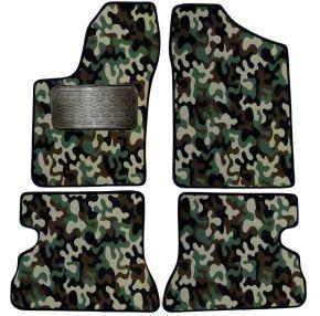 Maskačové textilné koberce pre Fiat Seicento 4ks 1998-2009
