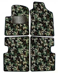 Maskačové textilné koberce pre Fiat 500 2007-2012 4ks