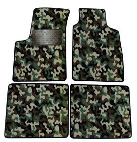 Maskačové textilné koberce pre Fiat Panda 2003-2012 4ks