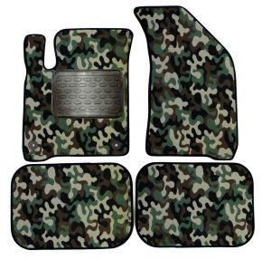 Maskačové textilné koberce pre Fiat Freemont 2008-up 4 ks