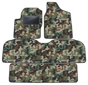 Maskačové textilné koberce pre Ford Galaxy / ALHAMBRA/ SHARAN  7miest 95