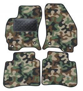 Maskačové textilné koberce pre Ford Mondeo 2001-2007 4ks