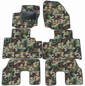 Maskačové textilné koberce pre Ford S-MAX  5 miiest  2007-2010