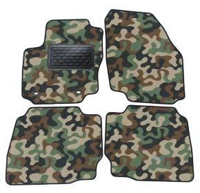 Maskačové textilné koberce pre Ford Mondeo  2007-2015  4ks