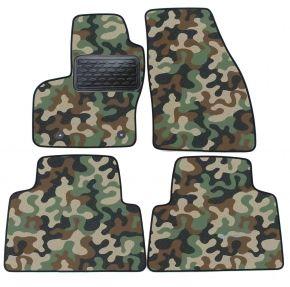 Maskačové textilné koberce pre Ford Kuga 2008-2012 4ks