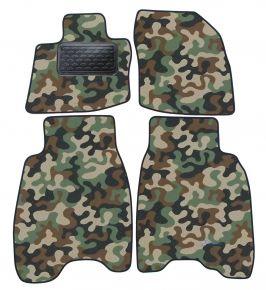 Maskačové textilné koberce pre Honda Civic 3D/ 5D  2007-2012 4ks