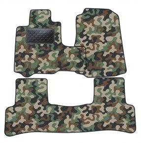Maskačové textilné koberce pre Honda CRV  2006-2012  4 ks