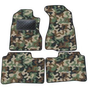 Maskačové textilné koberce pre Honda CRV  2001-2005  4ks