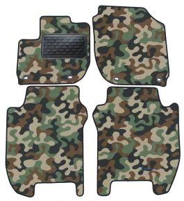 Maskačové textilné koberce pre Honda Jazz 2015-up 4ks