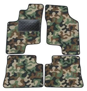 Maskačové textilné koberce pre Hyundai Getz 2003-up 4ks