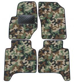 Maskačové textilné koberce pre Hyundai Teracan 2001-2006 4ks