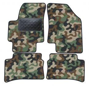 Maskačové textilné koberce pre Hyundai Accent 2006-up 4ks