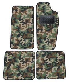 Maskačové textilné koberce pre Jeep Cherokee 1988-2001 4ks