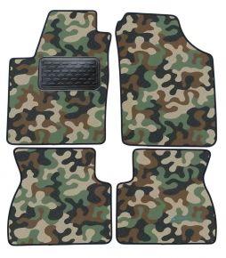 Maskačové textilné koberce pre Kia Picanto I  2007-2011  4ks
