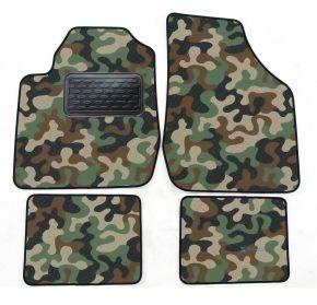 Maskačové textilné koberce pre Kia Rio 2000-2005 4ks