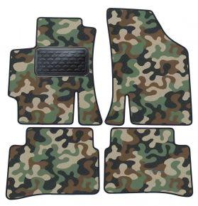 Maskačové textilné koberce pre Kia Rio II 2005-2011  4ks