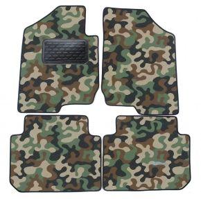 Maskačové textilné koberce pre Kia Carens 2007-up 4ks