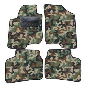Maskačové textilné koberce pre Kia Cee'd 3D 2007-2013 4ks