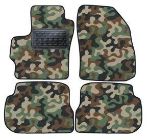 Maskačové textilné koberce pre Mazda 3 2004-2009  4ks