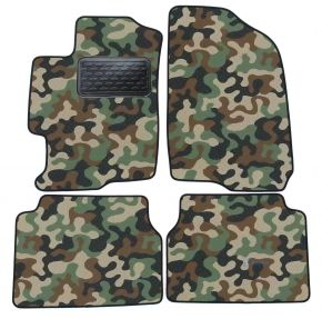 Maskačové textilné koberce pre Mazda 6  2002-2007 4ks