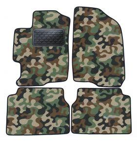 Maskačové textilné koberce pre Mazda 6  2008-2012  4ks