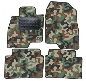 Maskačové textilné koberce pre Mazda 6 2013-up 4 ks