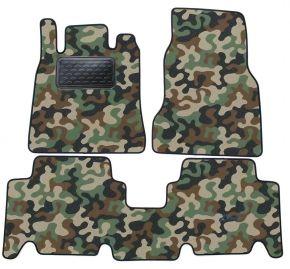 Maskačové textilné koberce pre Mercedes A Class W168 1997-2004 4ks