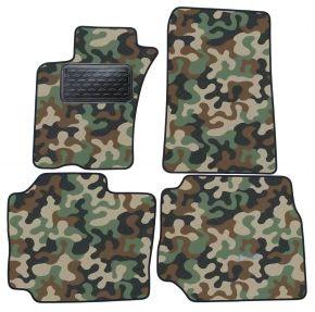 Maskačové textilné koberce pre Mercedes ML  W163 1998-2005 4ks