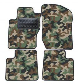 Maskačové textilné koberce pre Mercedes ML W164 2005-2013  4ks