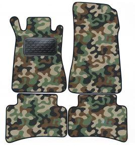 Maskačové textilné koberce pre Mercedes W 203 C Class 2000-2007 4ks