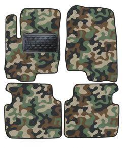Maskačové textilné koberce pre Mitsubishi Colt 2003-up 4ks