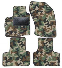 Maskačové textilné koberce pre Mitsubishi Outland 02-10/C-CROSS PEUG 4007 ASX